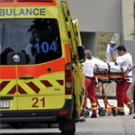 Megégett férfit húztak ki a Dunából a XXII. kerületben