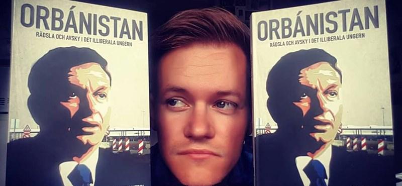 A kormánypárti Demokrata listázta a svéd újságírót, aki könyvet írt Orbánról