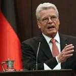 A német államfő hálás a Szovjetuniónak