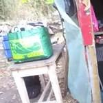 15 hajléktalan kunyhóját semmisítették meg a kispesti erdőben