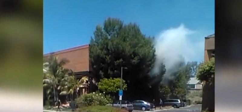Kaliforniai robbantás: letartóztattak egy férfit, akinek köze lehet a magyar nő halálához