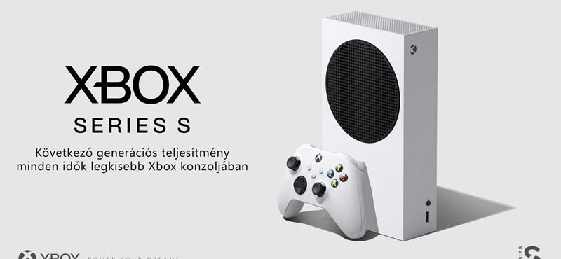 Váratlanul bemutatta olcsóbb konzolját a Microsoft, itt az Xbox Series S
