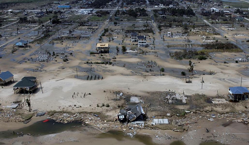 Az Ike hurrikán 2008. szeptemberében letarolta Texas tengerpartját.
