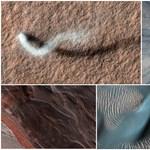 15 éves lett a NASA Mars-szondája, remek fotókkal ünnepelnek