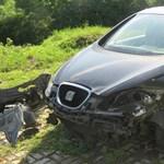 110 km/h-nál szállt el az autó az M0-áson, mert egy skodás befékezett előttük