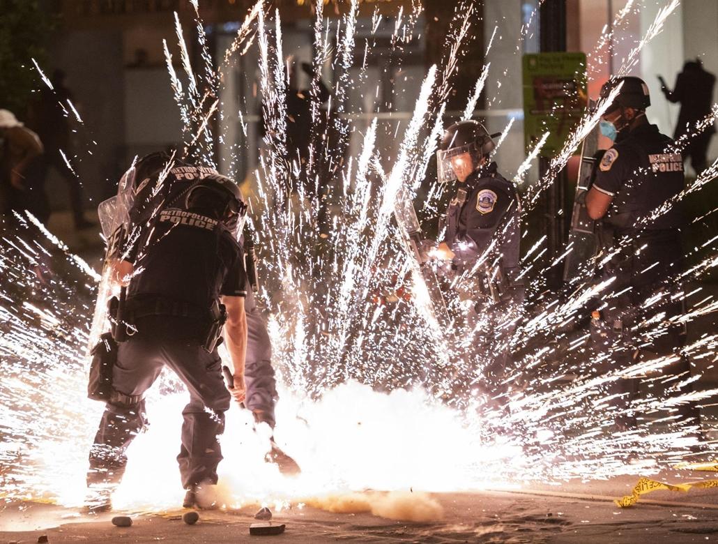 Nagyítás - afp.20.05.30. George Floyd tüntetés