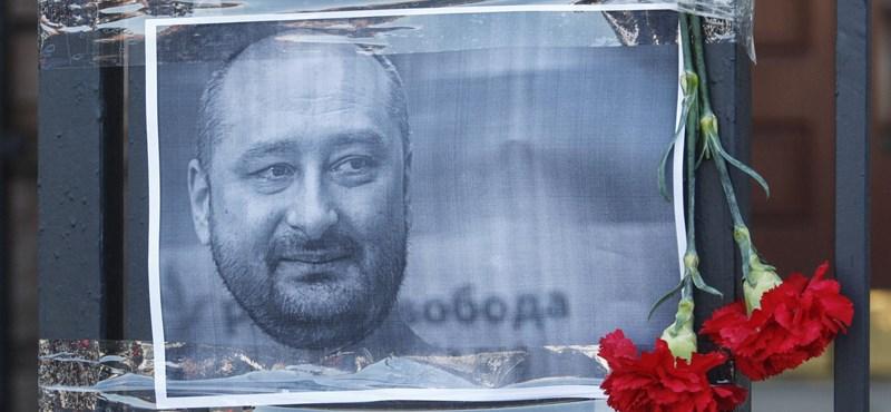Elkapták a férfit, aki az orosz újságíró meggyilkolását szervezhette