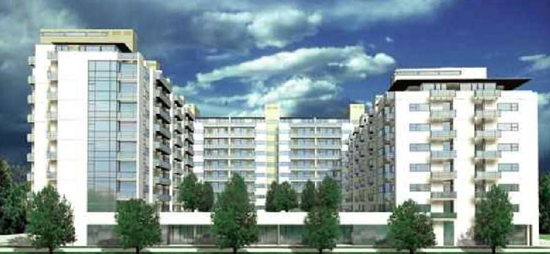 Riverside lakópark - élet a Duna partján