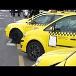 Csalódottak a taxisok, alig páran voltak az újabb tüntetésen - videó