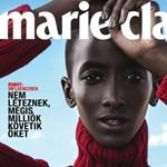 Afrikai menekült modellt tett címlapjára a magyar Marie Claire