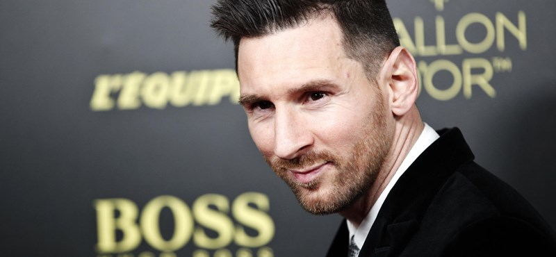 Lionel Messi hatodszor is aranylabdás