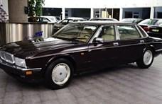 842 kilométerrel várja új gazdáját ez a 26 éves V12-es Jaguar luxusautó