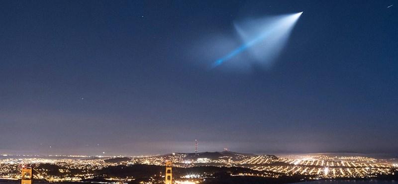 Rejtélyes fényt láttak Amerika felett – videó