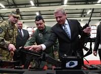 Itthon összerakott fegyverek kerülnek a magyar katonák kezébe