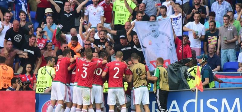 Csoportgyőztesként Belgiummal játszik a magyar válogatott a legjobb 16 között