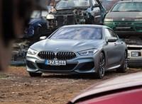 2x2 néha 5: teszten a 4 ajtós V8-as biturbó BMW M850i Gran Coupe