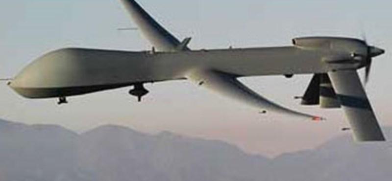 Amerikai drón csapott le Pakisztánban