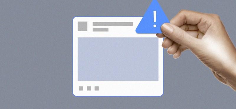 A Facebook elkezdte megjelölni a kormányzati médiumok oldalait