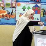 Az egyiptomi elnököt a szavazatok 97 százalékával választották újra
