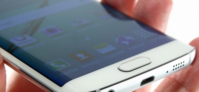 A legizgalmasabb Samsung-telefon: Galaxy S6 edge-teszt