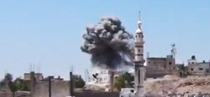 A szír kormány vegyi fegyverek bevetésén gondolkozik