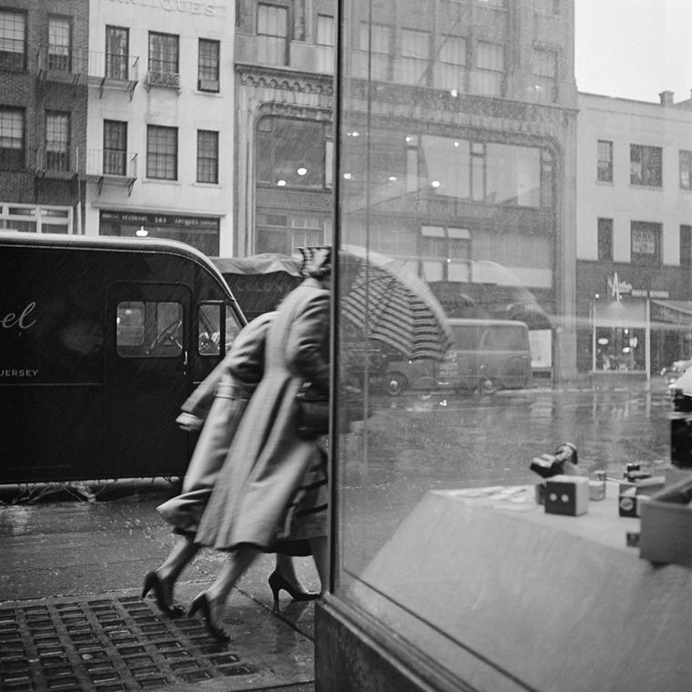 NE használd_! - Vivian Maier nagyítás - New York - 1953. október 29. (zselatinos ezüst, 2014)