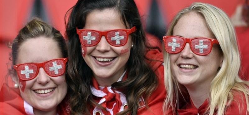Vigadóbbra vette Svájc