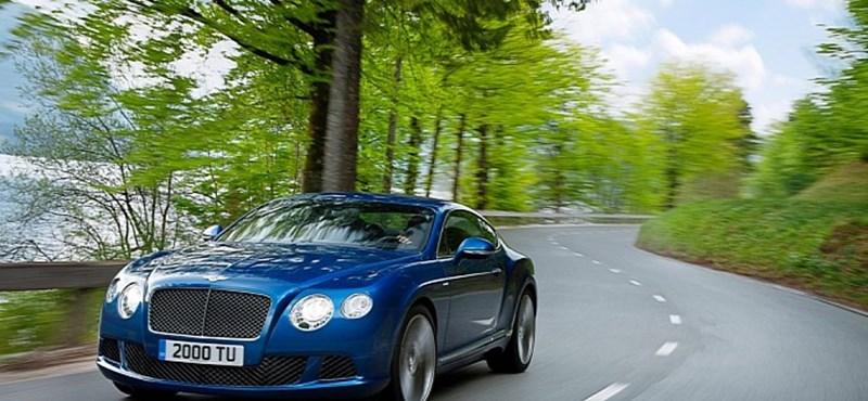 Az orosz oligarchák imádjak majd a legdurvább Bentley-t