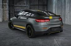 Indokolt a sárga versenycsík a 700 lóerőre tuningolt Mercedes-AMG SUV-n