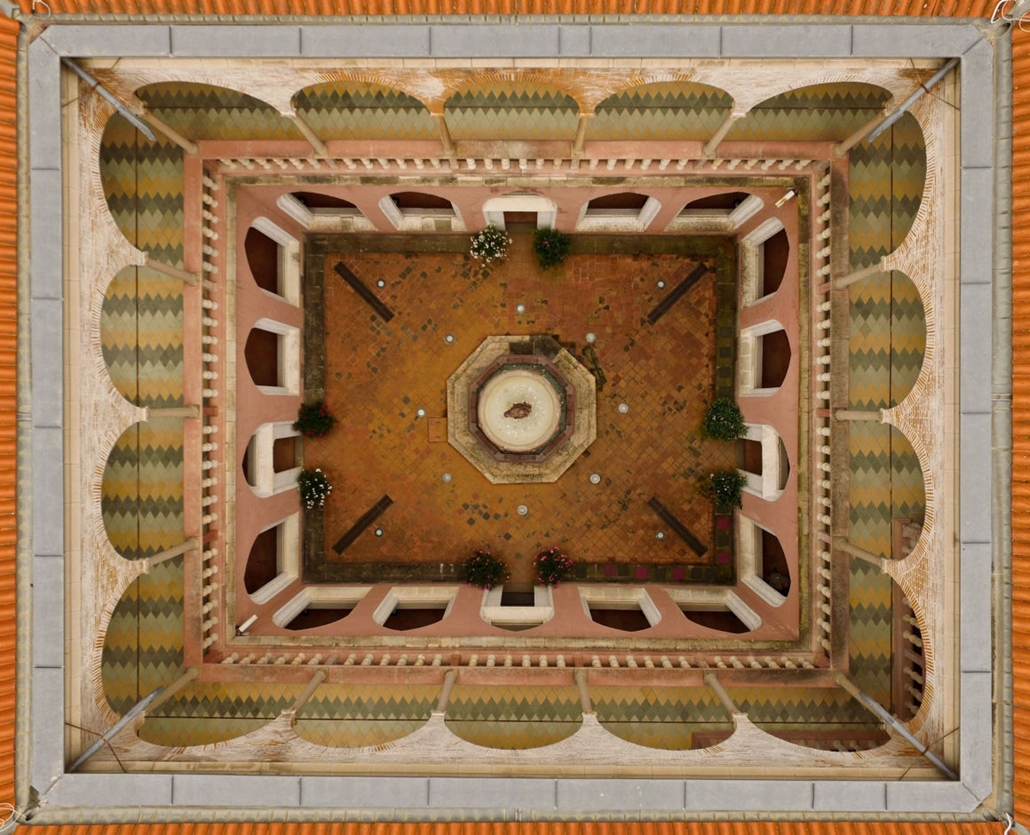 e! - drónfotópályázat Visegrádi királyi palota