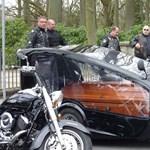Fotó: Harley Davidsonon temethetik el halottaikat a bécsiek