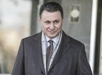 Lekapták Gruevszkit az Anker közben