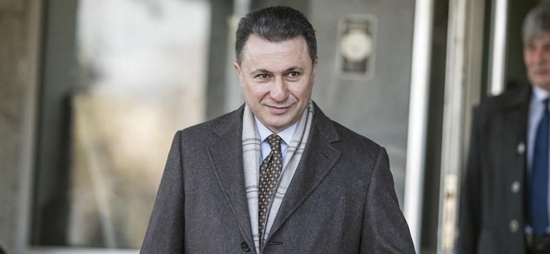 A macedón vámügy egyik dolgozójával ebédelt Budapesten Gruevszki