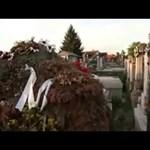 Orbán fehér rózsával emlékezett Bara József sírjánál