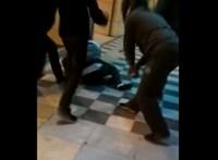 Athéni antifasiszták vernek meg egy magyar szurkolót egy netre feltett videón