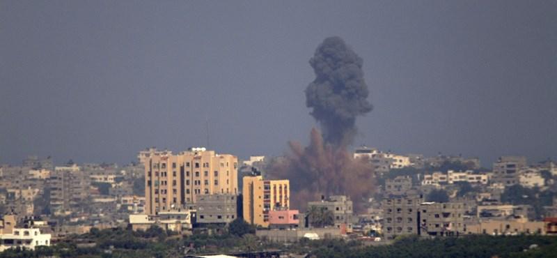 Már több mint 50-en meghaltak Gázában