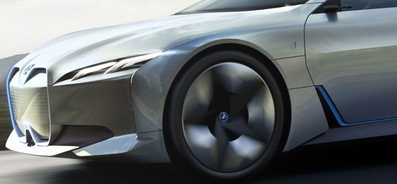 BMW i7: jön az elektromos luxusautó, cél a 600 kilométeres hatótáv