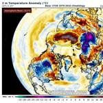 38 fokos hőséget mértek a Föld egyik leghidegebb pontján