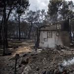 Leváltották a főkapitányt és a tűzoltóság parancsnokát a görög tűzvész után