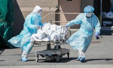 Koronavírus: Egyre több amerikai tagállamban nem elég a kórházi ágy és az orvos