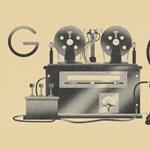 Miért van ez a gép ma a Google főoldalán? És ki az a Valdemar Poulsen?