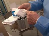 Vírusölő maszkot gyárt egy francia vállalkozás