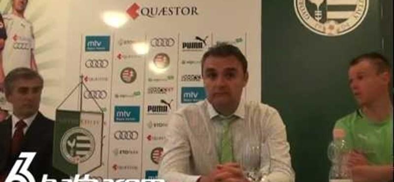 """Balhés sajtótájékoztató Győrben: """"Itt mindenki hülye?"""""""