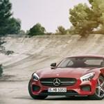 Megérkezett a Mercedes új csúcsfegyvere, az AMG GT