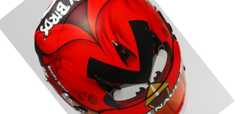 A nap kütyüje: Angry Birds bukósisak