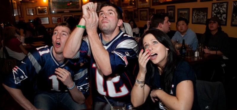 Super Bowl: a tévék maguk alá gyűrték az amerikaiakat