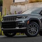 A BMW X7-nél is nagyobb az új Jeep Grand Cherokee L