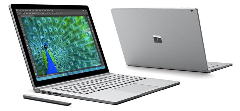 Gyors és szép: itt a Microsoft első laptopja