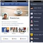 Új Facebook iOS kliens, Timeline támogatással