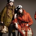 Ez a divat: Burberry őszi-téli kollekciójának fotói